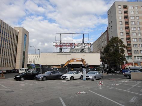 Pawilon handlowy przy ulicy Przeskok 2 w Warszawie (2013)