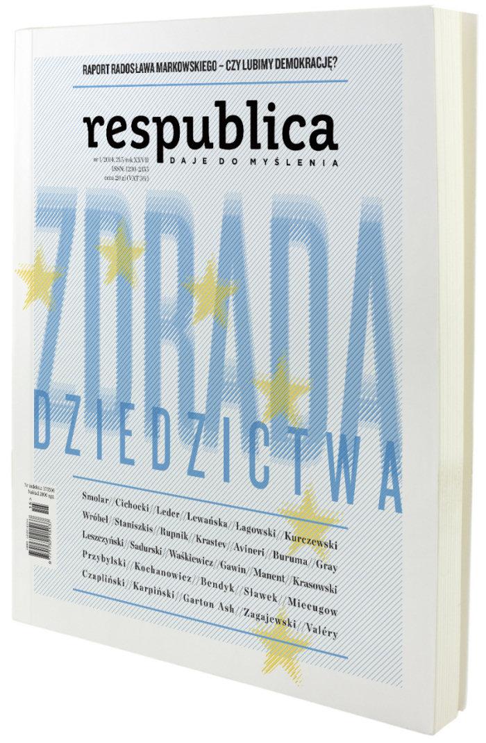 """Zachęcamy do lektury najnowszego numeru kwartalnika Res Publica nowa, pt. """"Zdrada dziedzictwa"""", który dedykujemy Marcinowi Królowi z okazji 70. rocznicy urodzin."""