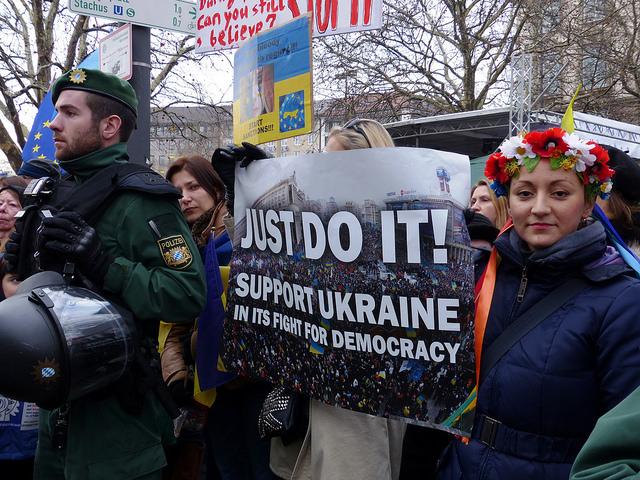 Czy Ukraina może liczyć na prawdziwą pomoc Zachodu? Fot. blu-news.org / Flickr
