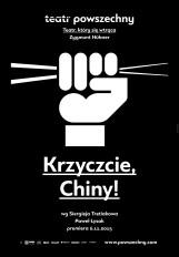 Krzyczcie, Chiny! - plakat B1, projekt Studio Homework