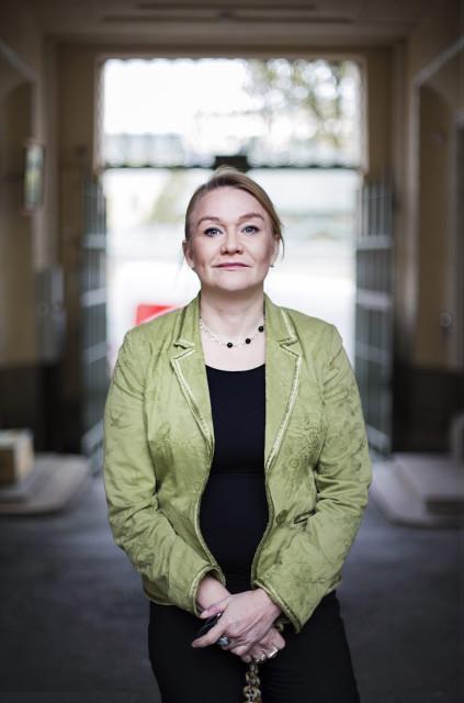 HSPO 20151016 Annika Forsander, TEMin kotouttamisen osaamiskeskuksen kehittämispäällikkö. Kuva: Outi Pyhäranta / HS